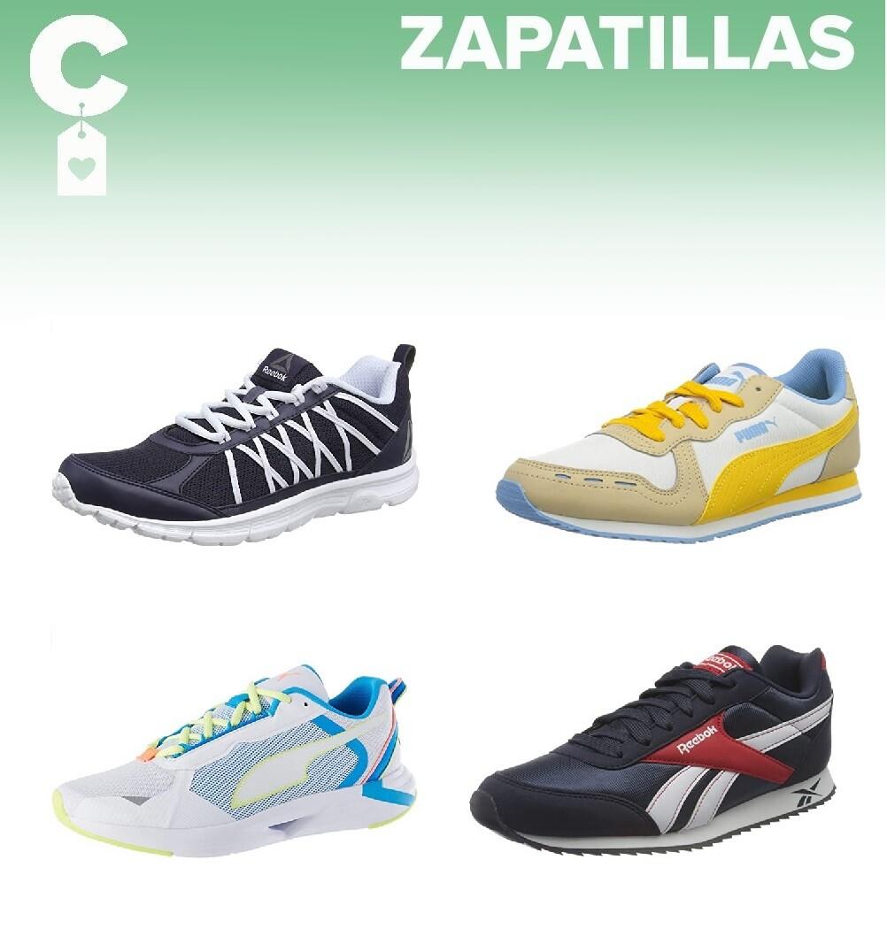 Chollos en tallas sueltas de  zapatillas Puma y Reebok por menos de 30 euros en Amazon