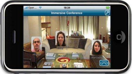 Telefonica presenta Immersive Conference, VoIP con sensación de 3D