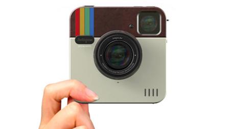 Instagram Socialmatic: y el logo se hizo cámara
