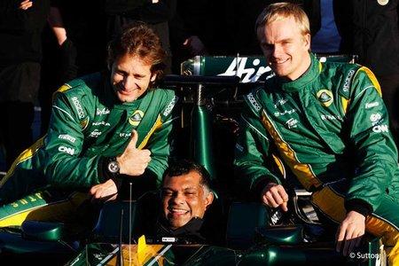 Heikki Kovalainen y Jarno Trulli confirmados con Caterham F1 Team para 2012
