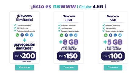 Newww Omv Mexico Paquetes Internet Ilimitado