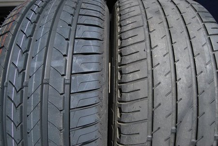 Neumáticos Goodyear EfficientGrip y Michelin HX