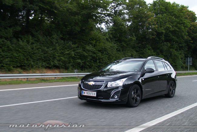 Chevrolet Cruze Station Wagon presentación y prueba en Colonia