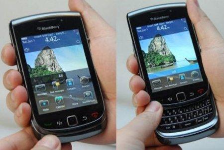 De BlackBerry Slider 9800 a BlackBerry Torch, cambio de nombre y estrategia comercial