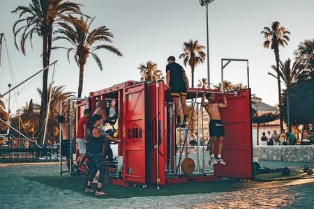 CuboFit: un gimnasio en plena playa al más puro estilo americano que ya ha llegado a España