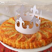Aprende a preparar la Gallete de Rois, la Rosca de Reyes francesa
