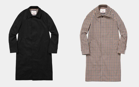 Supreme Aquascutum Trendencias Hombre Colaboracion Fall Winter 2016