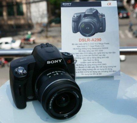 Sony A290, filtradas imágenes y características de la próxima cámara réflex de Sony