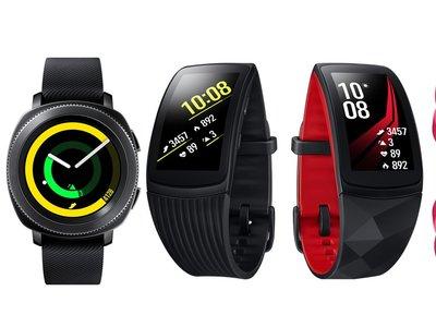 Samsung renueva su línea de wearables en México: nuevos Gear Sport, Fit2 Plus y Icon X