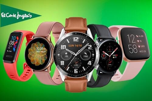 Smartwatches y pulseras deportivas para regalar este Día del Padre. El Corte Inglés te ofrece hasta un 43% de descuento en estos 17 modelos con sus Tecnoprecios