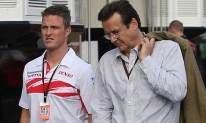Ralf Schumacher no tiene quien le represente