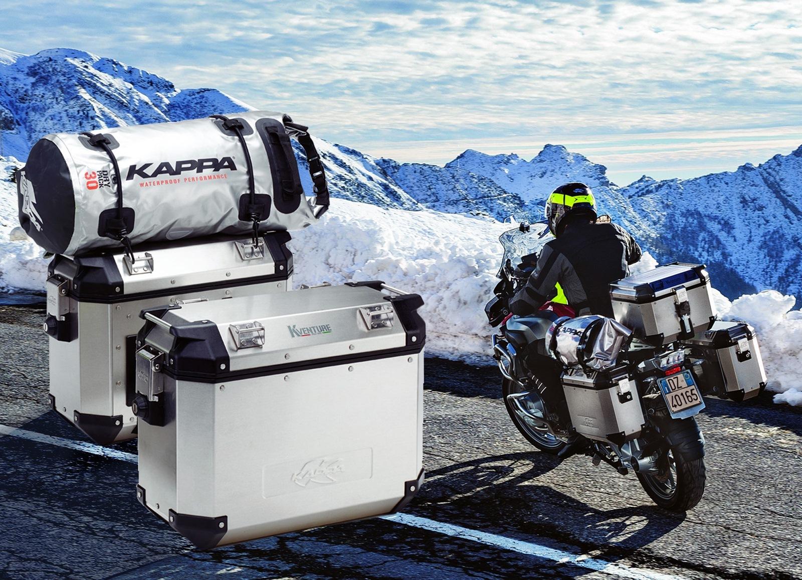 Kappa K-Venture, maletas de alumino
