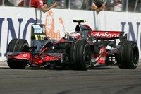 Heikki Kovalainen logra su primera victoria en Hungría
