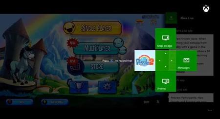 Se detallan las novedades en la actualización de octubre de Xbox One