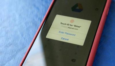 La seguridad por medio de Touch ID llega a Google Drive