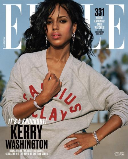 Elle USA: Kerry Washington