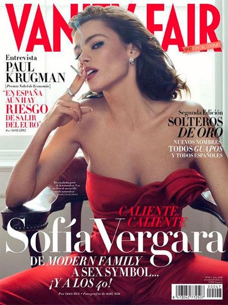 Sofía Vergara, sensualidad en estado puro en Vanity Fair