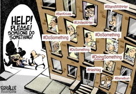 El activismo de hashtag es tendencia. La imagen de la semana