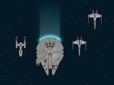 ¿Cómo contar TODO el episodio IV de Star Wars en una infografía alucinante de 123 metros? Así