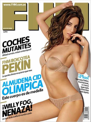 Almudena Cid, un FHM muy olímpico