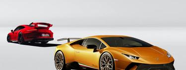 Comparativa: Porsche 911 GT3 frente a Lamborghini Huracán Performante, en búsqueda de sensaciones