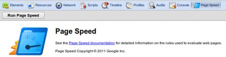 PageSpeed: Extensión para Google Chrome para analizar y mejorar la velocidad de nuestra web