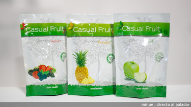 Casual Fruit, snacks de fruta liofilizada