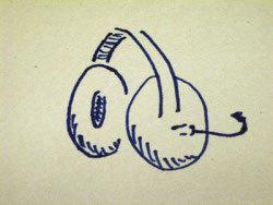 Los auriculares son más o menos así