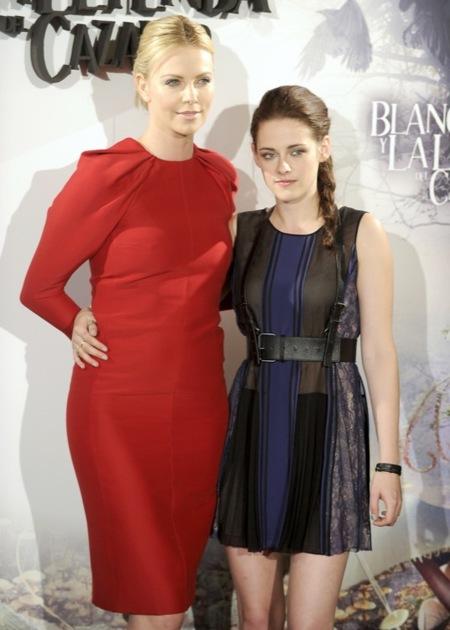 """Charlize Theron y Kristen Stewart traen su """"Blancanieves"""" a Madrid"""
