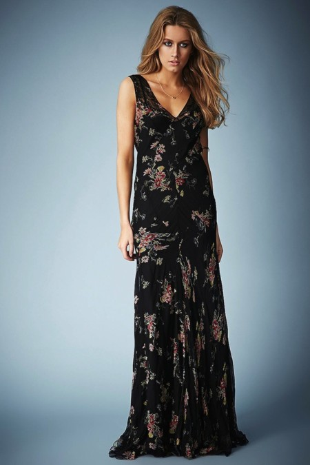 vestido largo para boda kate moss for topshop