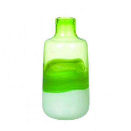 Mimub Com Botella Vidrio Pintado Verde Pvp 21eur