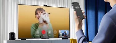 """La Smart TV 4K 120Hz Huawei Vision S de 55"""" con webcam FullHD y HarmonyOS se queda a 649 euros con este cupón en la tienda oficial"""