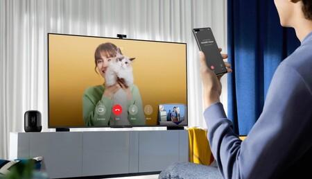 """La Smart Screen 4K 120Hz Huawei Vision S de 55"""" con webcam FullHD y HarmonyOS se queda a 649 euros con cupón en la tienda oficial"""