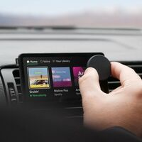 """Spotify Car Thing: un experimento hardware para """"viejos"""" coches que permite controlar el servicio con la voz y con un curioso dial"""