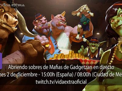 Abriendo sobres de Mafias de Gadgetzan en directo a las 15h (las 08:00h en Ciudad de México) [Finalizado]
