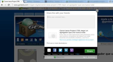 ShareThis para Chrome