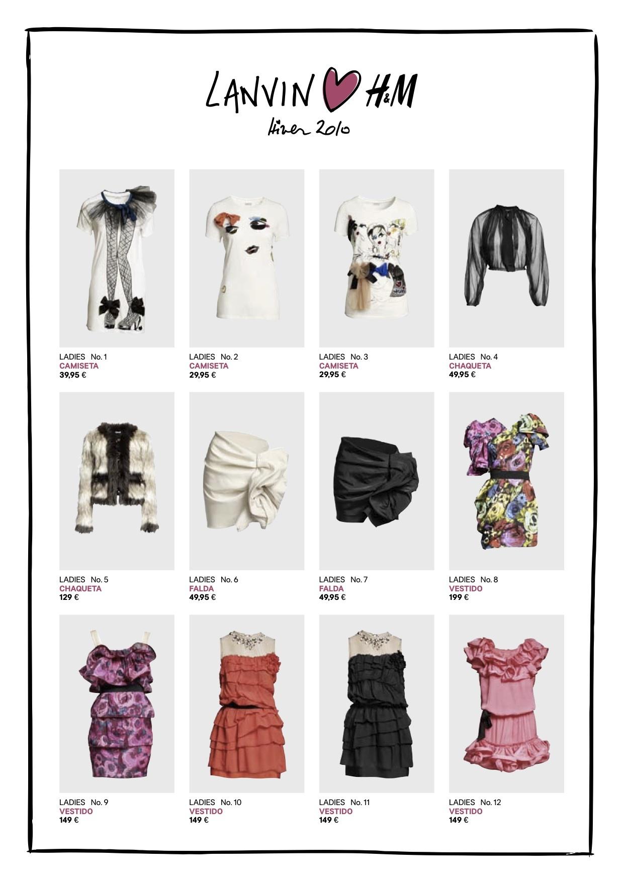 Foto de Todos los precios de la colección de Lanvin para H&M Otoño-Invierno 2010/2011 (1/4)
