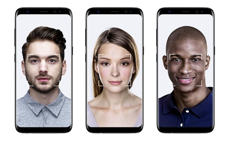 Samsung Galaxy S8 Facial Recognition