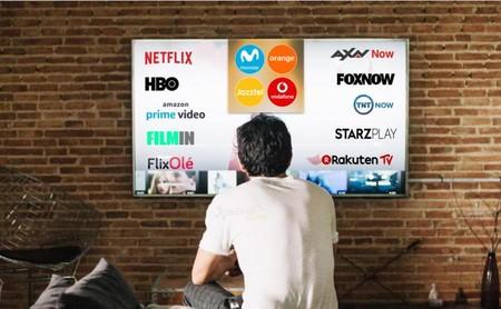Todos los contenidos y plataformas OTT que puedes ver desde la televisión de Movistar, Vodafone y Orange