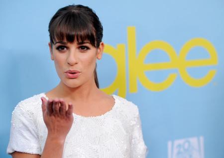 Las actrices de 'Glee' se van de fiesta