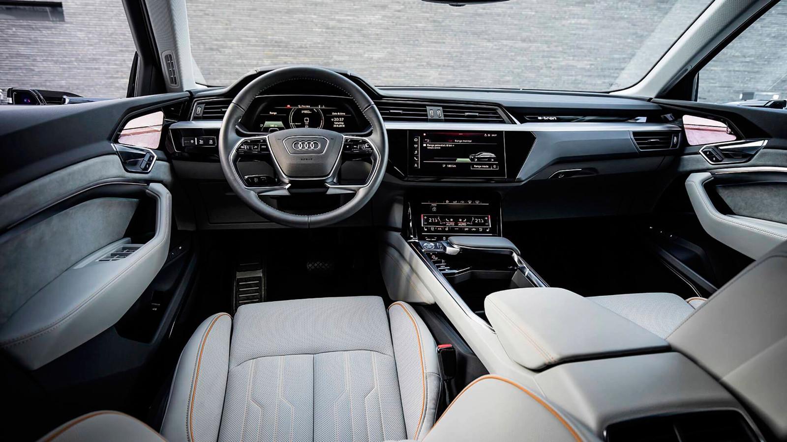 Foto de El habitáculo del Audi e-tron, al descubierto (18/19)
