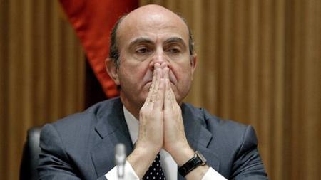 Sr. ministro de Guindos, consuelo de tontos