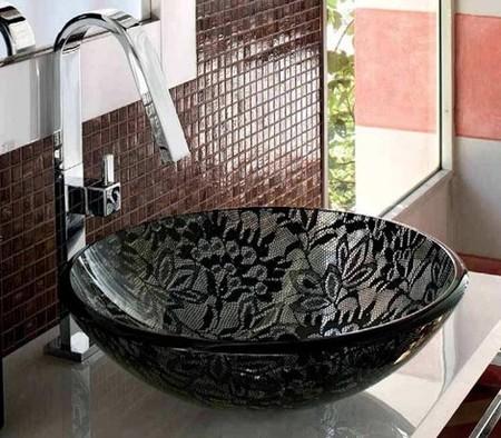 Lavabos de encaje para darle un toque diferente a tu baño