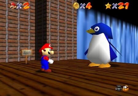 Super Mario 64: cómo conseguir la estrella Big Penguin Race de Cool, Cool Mountain