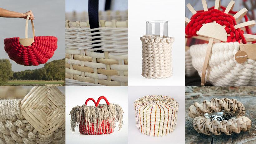 Técnicas de cestería contemporánea aplicada a la moda Un curso de Idoia Cuesta, creadora textil