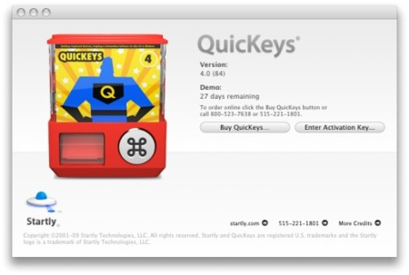 register quickeys