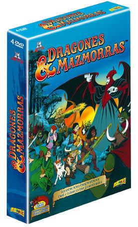 Dragones y Mazmorras se edita en DVD