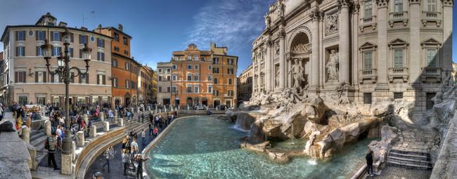 Fontana Di Trevi Turistas