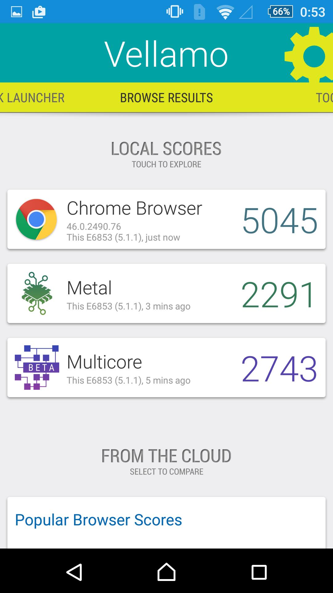 Foto de Sony Xperia Z5 Premium, benchmarks (20/23)