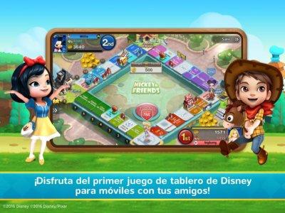 Disney Magical Dice, el Monopoly de Disney ya disponible para descagar en Android
